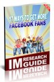 17 Ways To Get More Facebook Fans Personal Use Ebook
