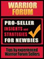 Pro-Seller Insights  Strategies For Newbies Of Warrior ...