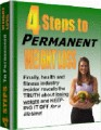 4 Steps To Permanent Weight Loss Give Away Rights Ebook