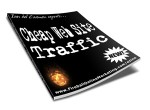 Cheap Web Site Traffic Resale Rights Ebook