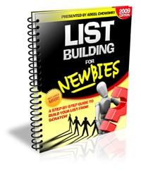 List Building For Newbies PLR Ebook