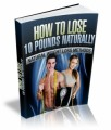 How To Lose 10 Pounds Naturally Plr Ebook