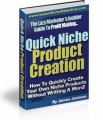 Quick Product Creation Give Away Rights Ebook