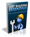 List Building Essentials PLR Ebook