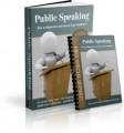 Public Speaking PLR Ebook
