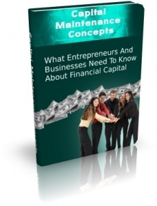 Capital Maintenance Concepts Mrr Ebook