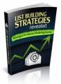 List Building Strategies PLR Ebook
