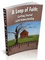 A Leap Of Faith: Getting Started With Homeschooling PLR ...