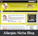 Allergies Niche Blog Personal Use Template