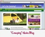 Camping Blog Personal Use Template With Video