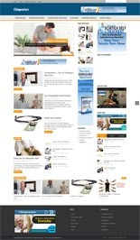 Chiropractors Niche Blog Personal Use Template