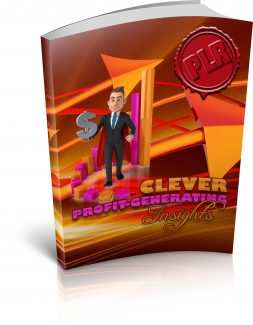 Clever Profit Generating Insights PLR Ebook With Audio