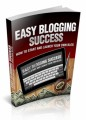 Easy Blogging Success MRR Ebook