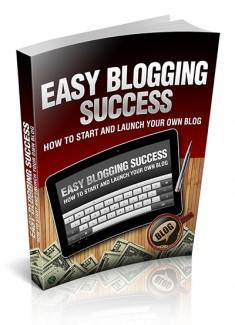 Easy Blogging Success MRR Ebook
