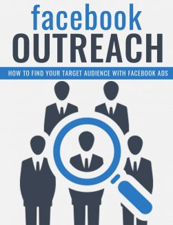 Facebook Outreach PLR Ebook