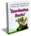 Gardening Basics Newsletter PLR Autoresponder Messages
