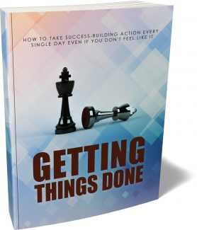 Getting Things Done MRR Ebook
