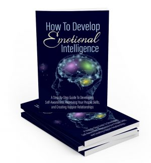 How To Develop Emotional Intelligence MRR Ebook