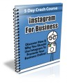 Instagram For Business PLR Autoresponder Messages