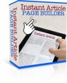 Instant Article Page Builder Personal Use Software
