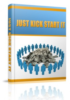 Just Kick Start It MRR Ebook