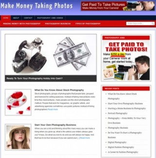 Make Money From Photography Blog Personal Use Turnkey Websites With Video