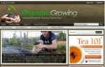 Organic Growing Blog Personal Use Template