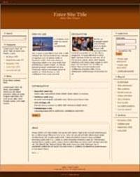 Responsive Magazine Style Template 4 PLR Template