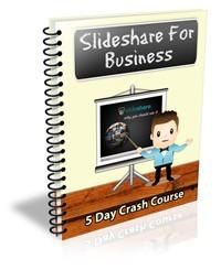 Slideshare For Business Ecourse PLR Autoresponder Messages