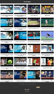 Tennis Instant Mobile Video Site MRR Software