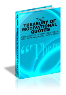 The Treasury Of Motivational Quotes MRR Ebook