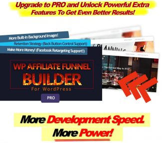 Wp Affiliate Funnel Builder Pro Personal Use Software