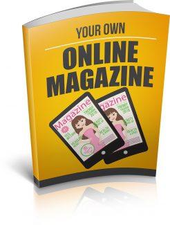 Your Own Online Magazine MRR Ebook