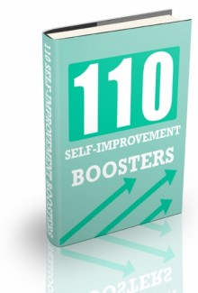 110 Self-Improvement Boosters PLR Ebook