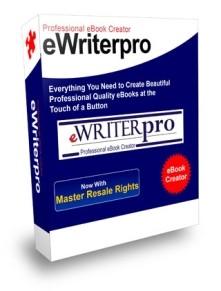 eWriter Pro Professional EBook Creator Mrr Software