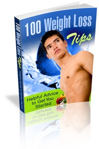 100 Weight Loss Tips – Helpful Advice To Get You Started Mrr Ebook