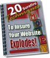 20 Surefire Techniques To Insure Your Website Explodes ...