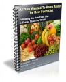 All You Wanted To Know About The Raw Food Diet Mrr Ebook