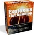 Explosive List Building Resale Rights Ebook
