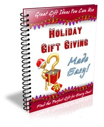 Holiday Gift Giving Made Easy PLR Autoresponder Messages