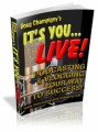 It's You Live Mrr Ebook
