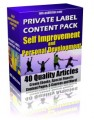 Private Label Article Pack : Self Improvement Articles ...