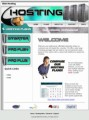 Web Hosting Green Personal Use Template