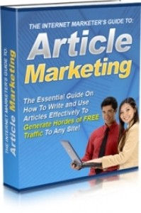 IMers Guide To Article Marketing Mrr Ebook With Audio & Video