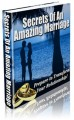 Secrets Of An Amazing Marriage MRR Ebook