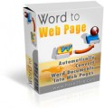 Word To Webpage MRR Software