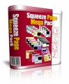 Squeeze Page Mega Pack MRR Template With Video