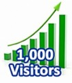 1,000 Visitors In One Month MRR Ebook