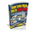Instant Turnkey Website Ideas For Instant Earnings Mrr Ebook