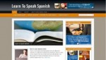 Learn To Speak Spanish Blog Personal Use Template